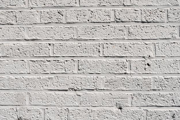 Semplice sfondo bianco muro di mattoni Foto Gratuite