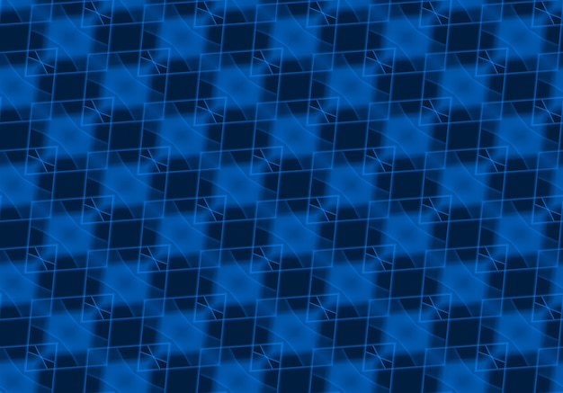 Senza cuciture blu scuro griglia quadrata arte piastrelle parete texture di sfondo. Foto Premium