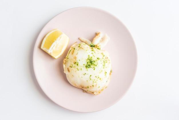 Seppie grigliate (cibo sano) Foto Premium