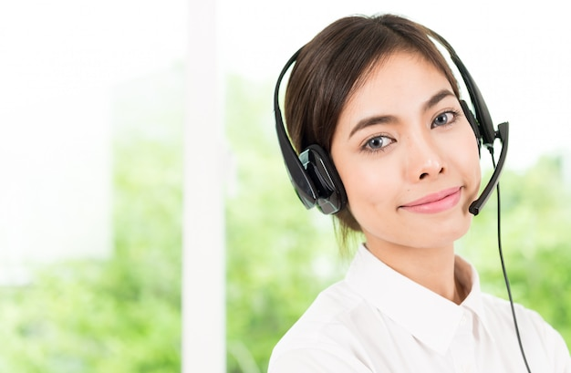 Servizio di chiamata cliente donna Foto Gratuite