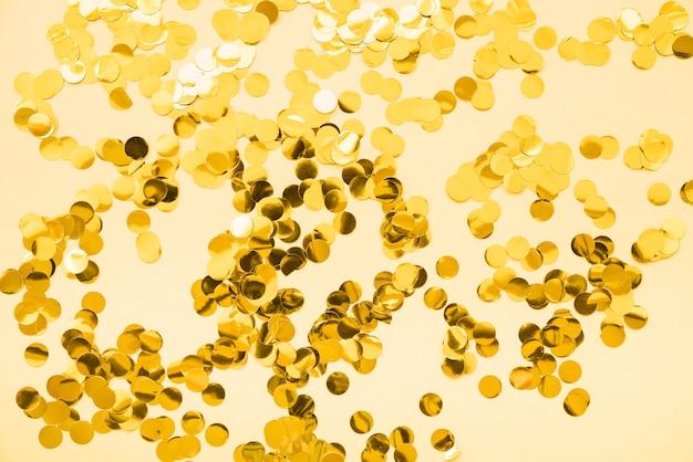 Set di glitter oro Foto Gratuite