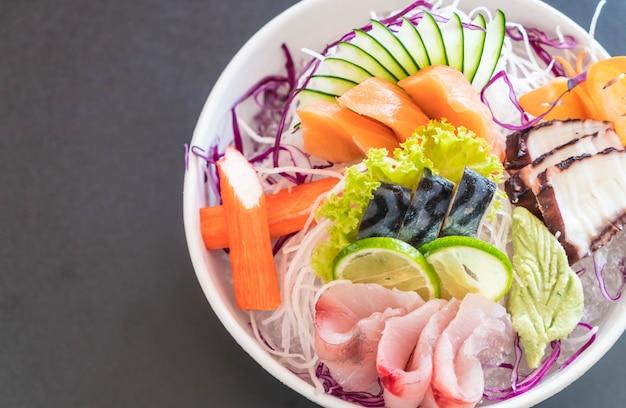 Set di sashimi misti Foto Premium