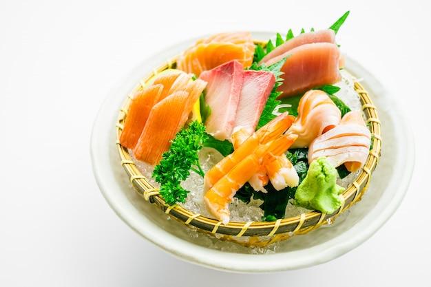 Set di sashimi misti Foto Gratuite