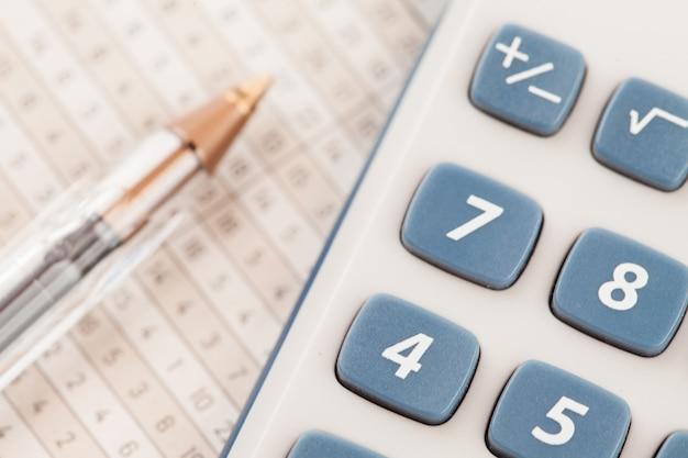 Settore del calcolatore Foto Premium