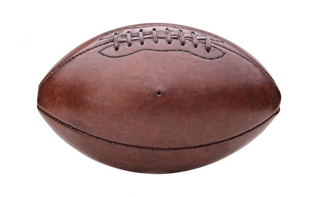 Sfera di football americano vintage Foto Premium