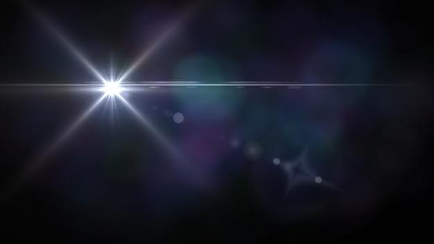 Sfocatura brillante con luci bokeh Foto Premium