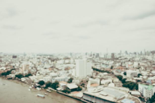 Sfocatura città di bangkok Foto Gratuite