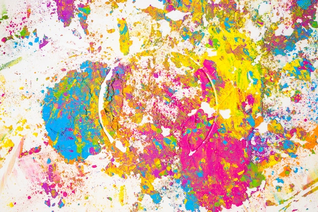 Sfocature colorate di diversi colori secchi Foto Gratuite