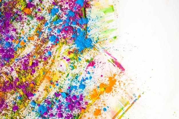 Sfocature e pile di diversi colori brillanti e secchi Foto Gratuite