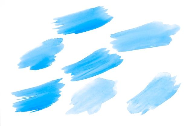 Sfondi unici disegnati a mano dell'acquerello di cielo blu per il vostro disegno Foto Gratuite
