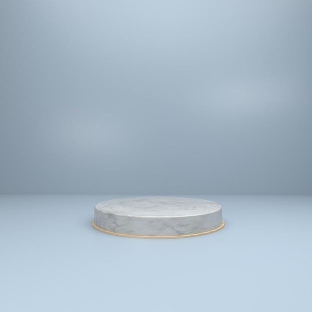 Sfondo 3d per la vetrina del prodotto Foto Premium