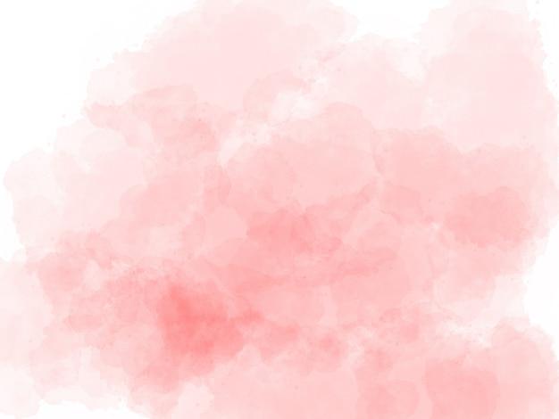 Sfondo acquerello rosa Foto Premium