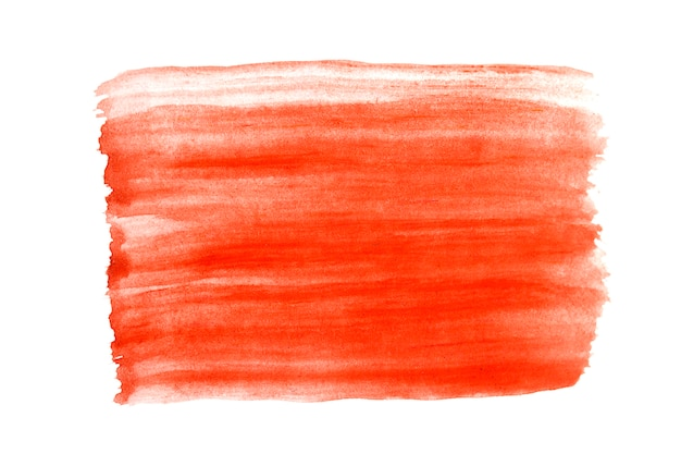 Sfondo astratto rosso in stile acquerello Foto Premium
