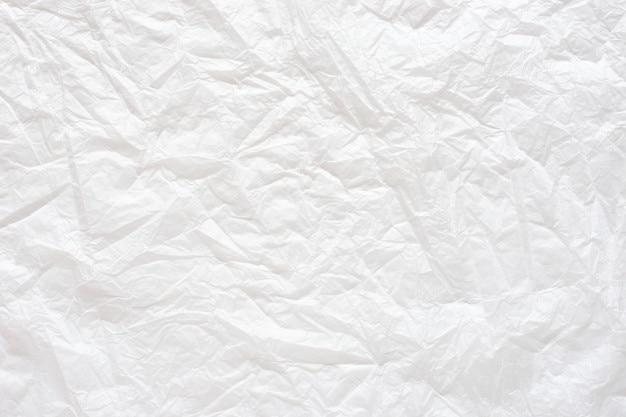 Sfondo Bianco Carta Stropicciata Scaricare Foto Premium