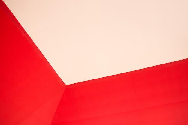 Sfondo Bicolore Rosso Giallo Scaricare Foto Premium