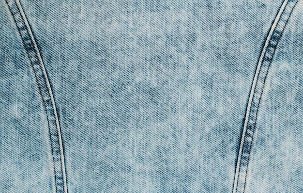 Sfondo blu denim texture Foto Premium