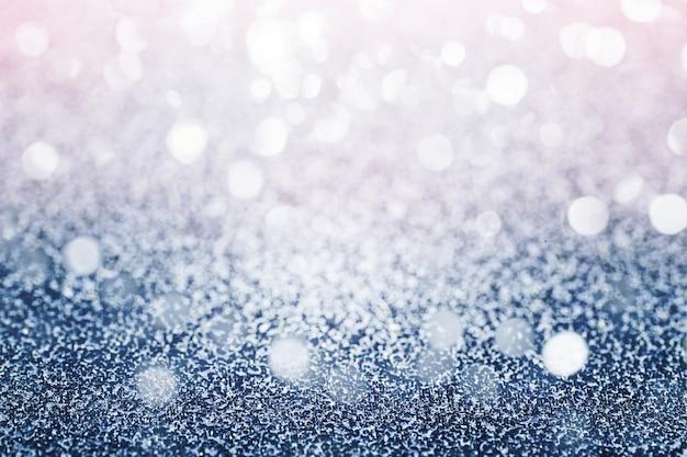Sfondo blu luccicante Foto Gratuite