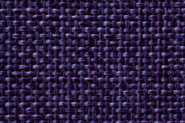 Sfondo blu scuro tessile con motivo a scacchi Foto Premium