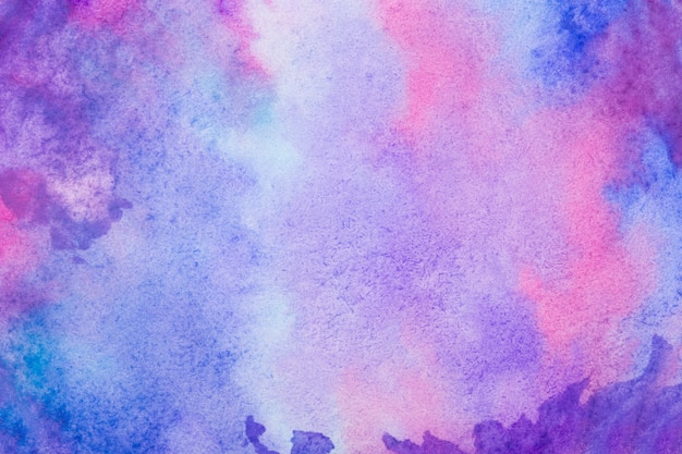 Sfondo colorato ad acquerello Foto Premium
