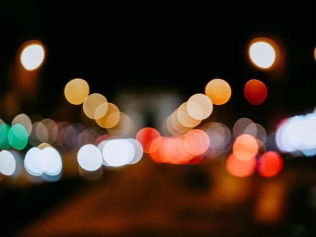 Sfondo colorato di natale Foto Premium
