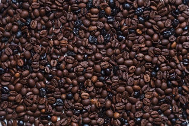 Sfondo di chicchi di caffè tostato Foto Gratuite
