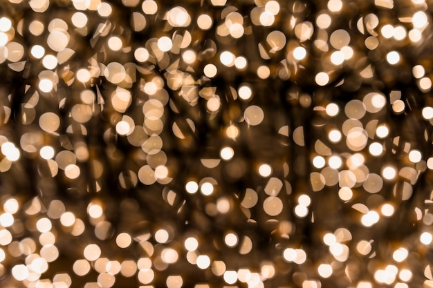 Sfondo di luci vintage glitter Foto Gratuite