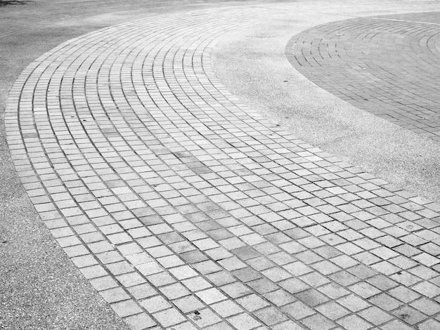 Sfondo di mattoni footpath Foto Premium