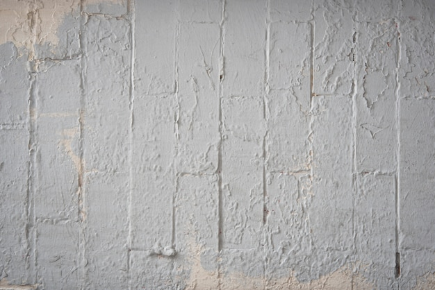 Sfondo di muro di mattoni bianchi Foto Gratuite