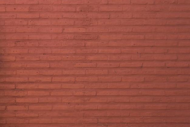 Sfondo di muro di mattoni rossi Foto Gratuite