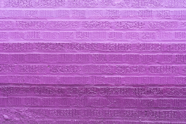 Sfondo di muro di mattoni viola Foto Gratuite