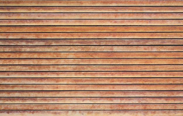 Sfondo di pannelli di legno, parete della plancia di legno