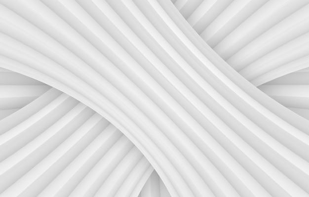 Sfondo di parete del pannello curva moderna spogliato grigio. Foto Premium