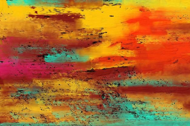 Sfondo di pittura astratta. Foto Premium
