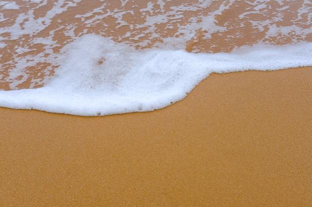 Sfondo Di Sabbia E Mare Scaricare Foto Premium