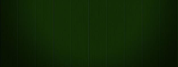 Sfondo di tavole di legno verde Foto Premium