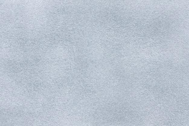 Sfondo di tessuto scamosciato grigio chiaro Foto Premium
