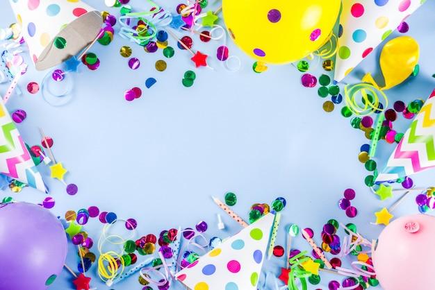 Sfondo festa di compleanno Foto Premium