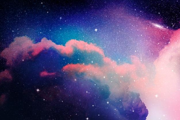 Sfondo galassia spaziale Foto Gratuite