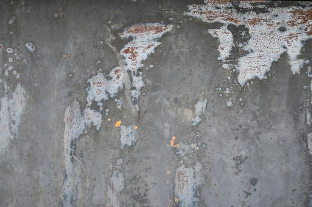 Sfondo grigio metallo con trama. vernice versata. struttura del metallo Foto Premium
