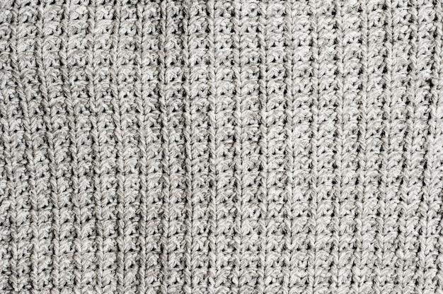 Sfondo grigio tessuto a maglia Foto Gratuite