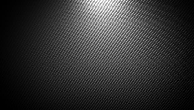 Sfondo in fibra di carbonio Foto Premium