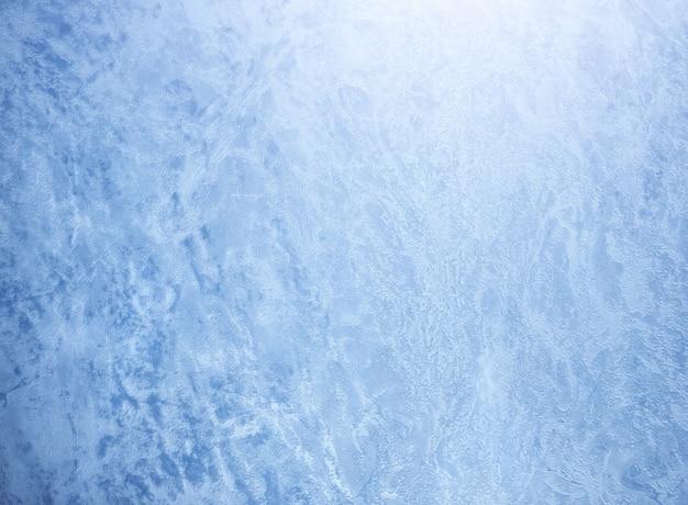 Sfondo invernale e texture gelida. Foto Premium