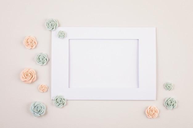 Sfondo minimal decorativo pastello Foto Premium