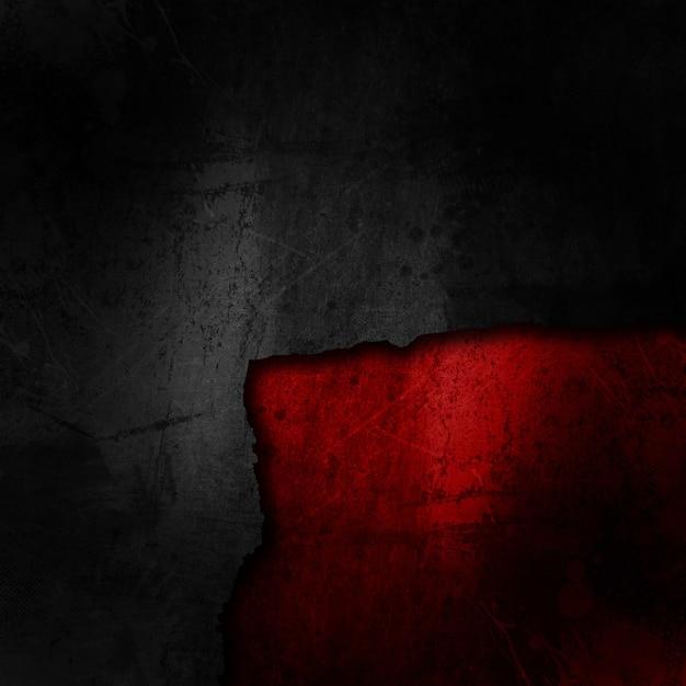 Sfondo Nero Grunge Su Una Texture Rosso Sporco Scaricare Foto Gratis