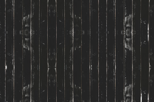 Sfondo nero vintage tavola di legno Foto Premium