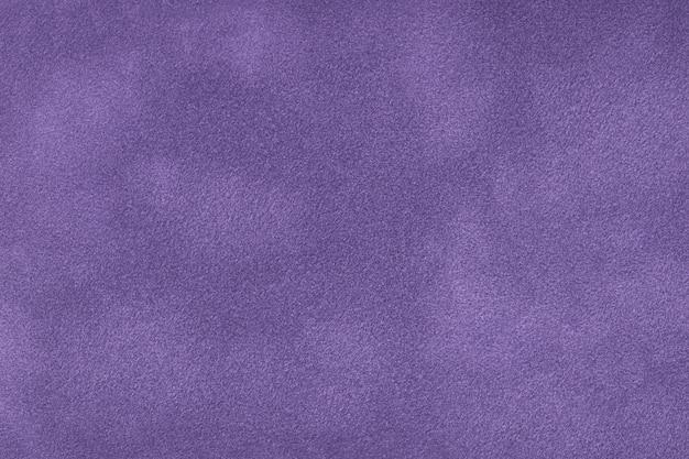Sfondo opaco viola scuro del tessuto scamosciato Foto Premium