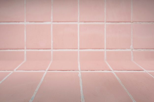 Sfondo piastrellato rosa Foto Gratuite