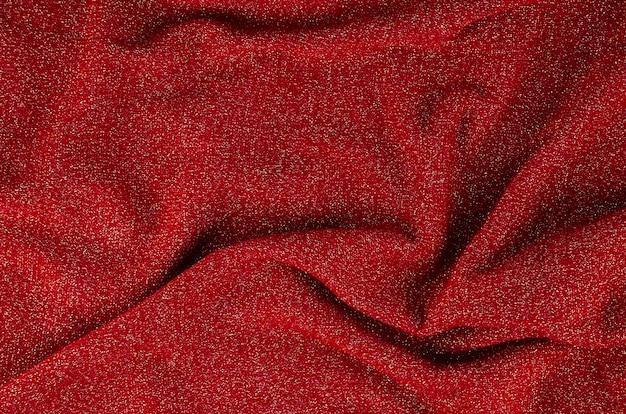 Sfondo rosso materiale texture morbida Foto Gratuite