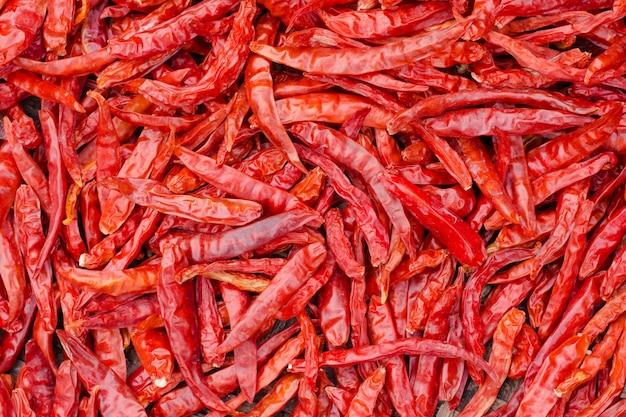 Sfondo rosso peperoncino. Foto Premium