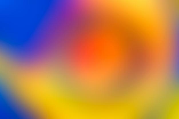 Sfondo sfocato in vivaci colori al neon. Foto Premium